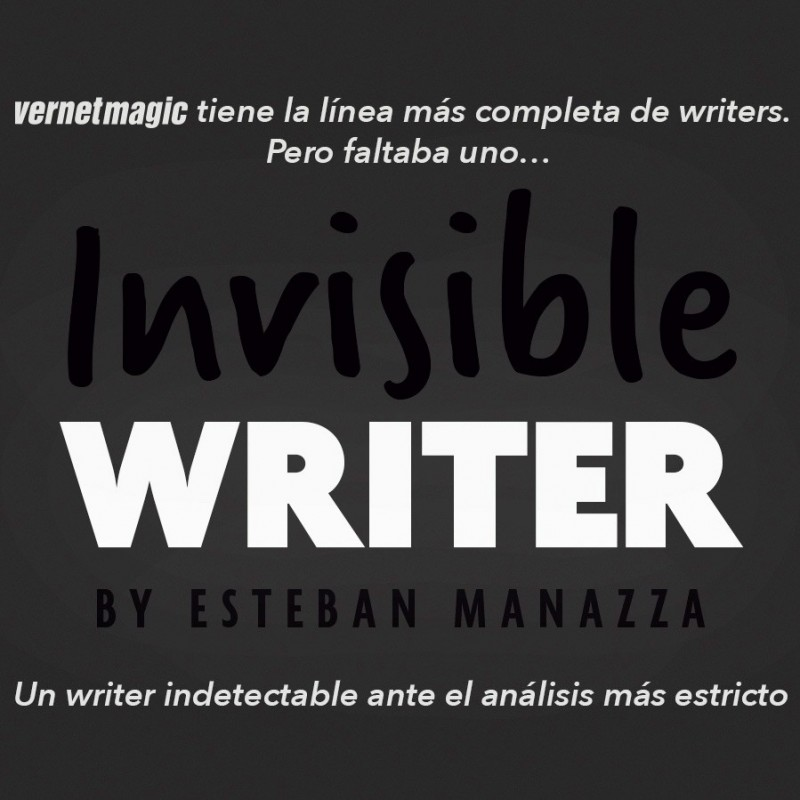 Invisible Writer - Vernet