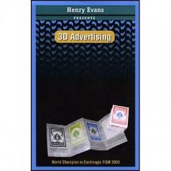 Publicidad 3D (con DVD) por Henry Evans