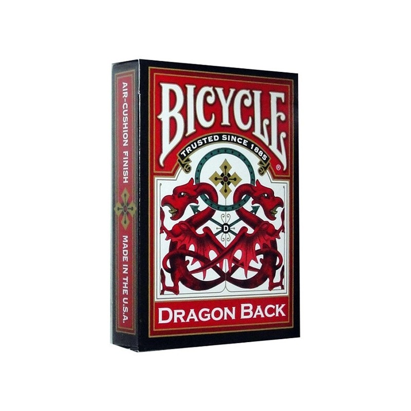 Baraja Bicycle Dragon Back Roja