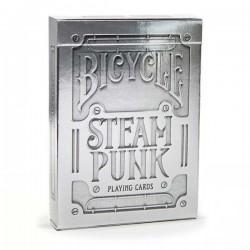 Baraja SteamPunk Plateada