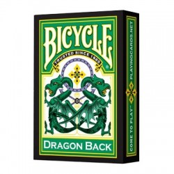 Baraja Bicycle Dragon Verde