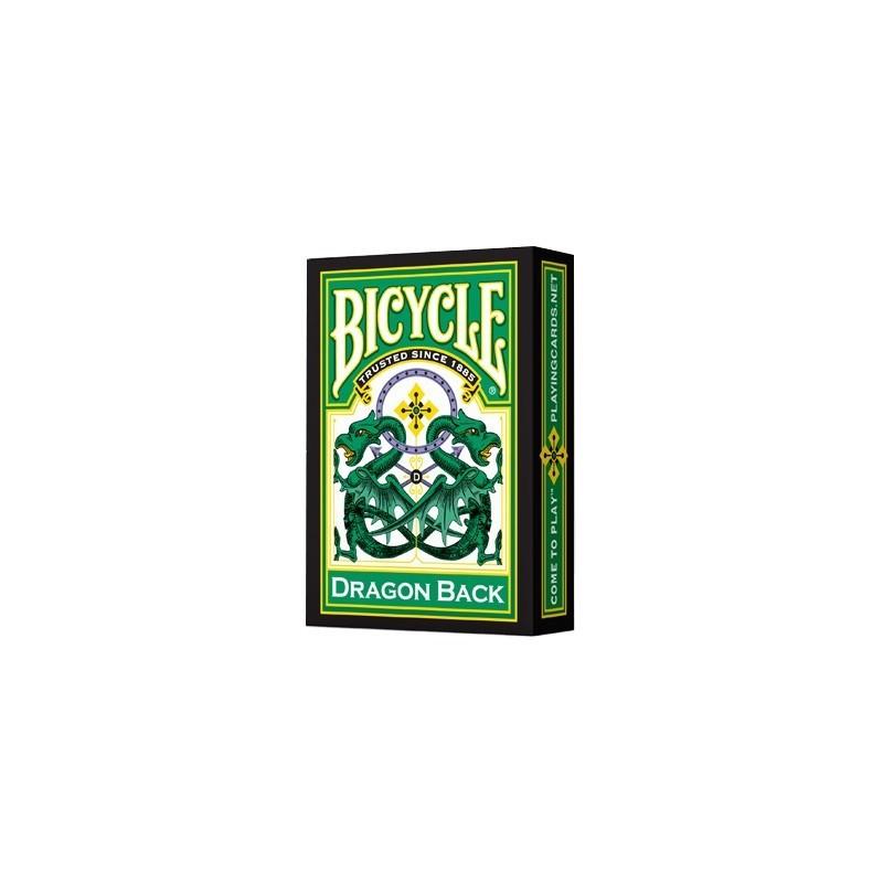 Baraja Bicycle Dragon Verde