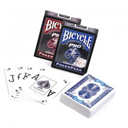 Baraja Bicycle Pro Poker Peek